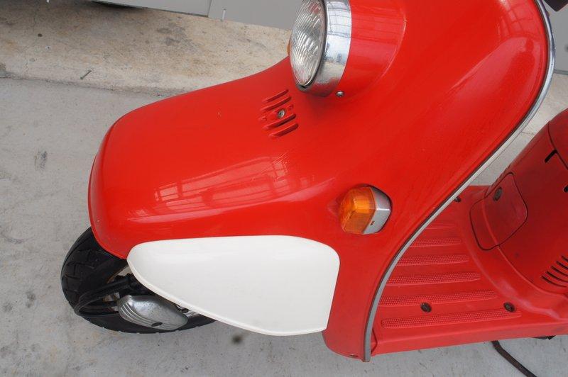 ホンダ ジョルノ AF24型 2スト 赤