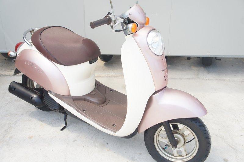 HONDA  AF55 クレアスクーピー ピンク デジタルメーター
