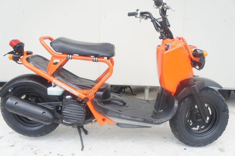 ホンダ ズーマー AF58 オレンジ