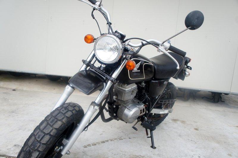 ホンダ エイプ ブラック 50cc