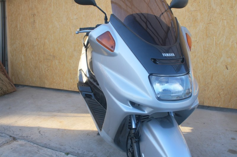 ヤママジェスティ2000年250ccグレーM日本