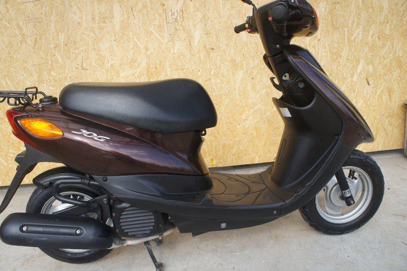ヤマハJOG2008年50ccブラウンM