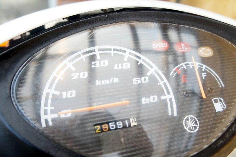 ヤマハJOG2007年50ccホワイト