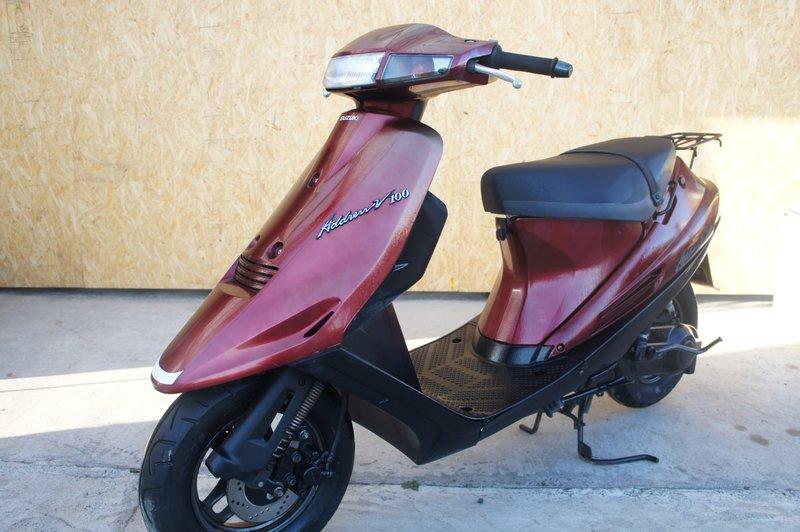 スズキアドレスV1002004年100cc