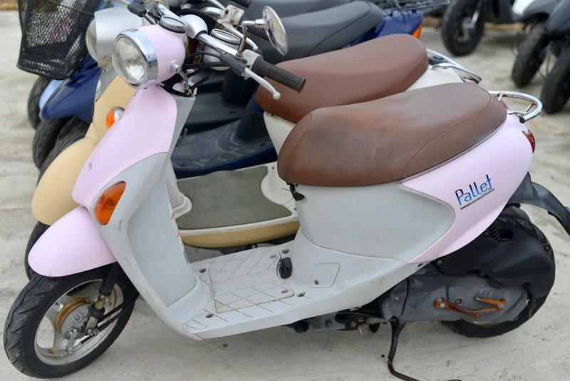 レッツ4パレット  ピンク 格安車両