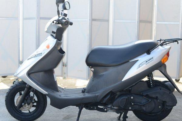スズキ アドレスV125G グリップ、シートヒーター付 K9シルバー 0921