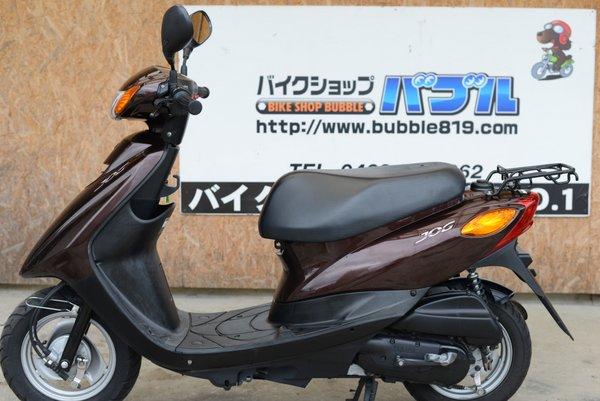 ヤマハ JOG SA36J インジェクションタイプ 茶色  0923