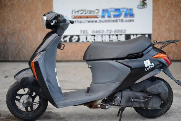 スズキ レッツ5 インジェクションタイプ 黒 0923