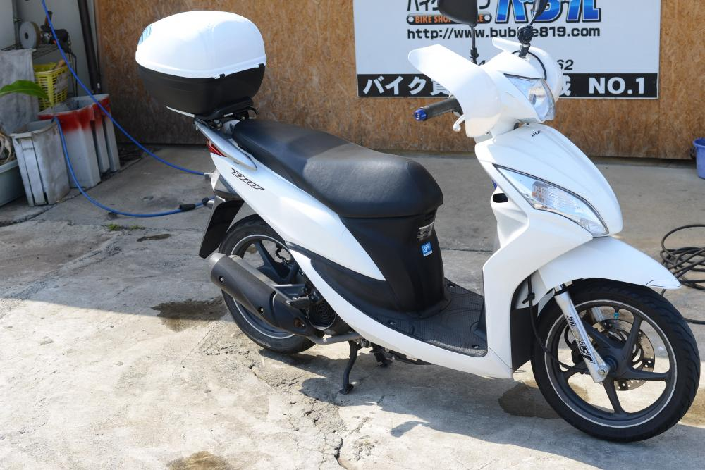 ホンダ DIO110 JF31 冬快適仕様 高年式 高価買取