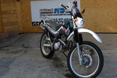 平塚市ーヤマハ セロー225WE  エンジンオイルパン割れ 不動車両