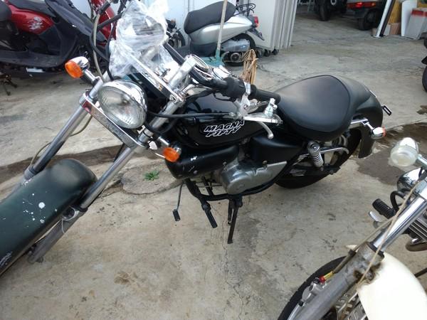 相模原市-マグナ50AC13型ブラック