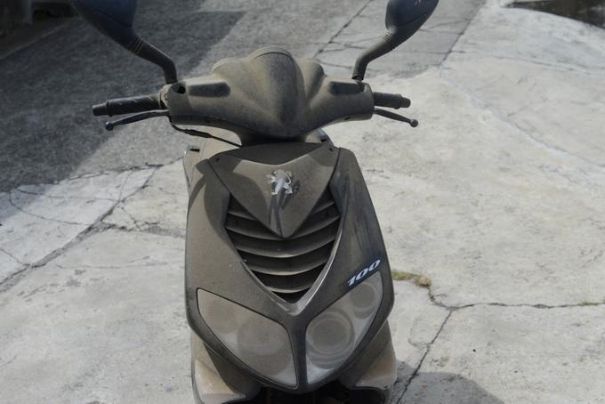 プジョー 100cc スクーター無料回収