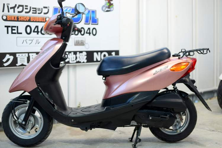 SA36J 4ストJOG 希少ローズピンク