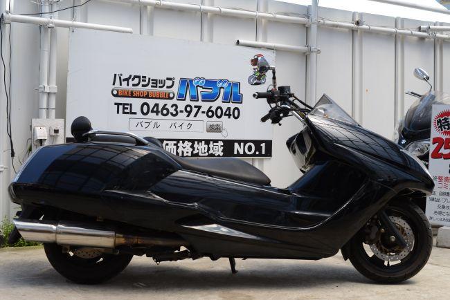 SG21J マグザム 社外マフラー 黒