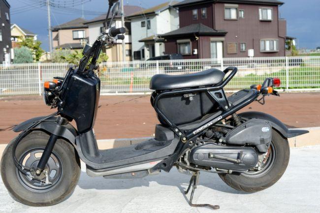 AF58 ズーマー人気のブラック