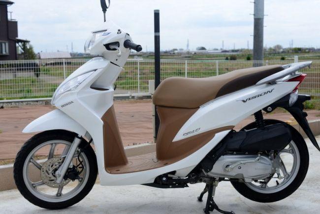 ホンダ VISION JF31型 (ディオ110型)110cc