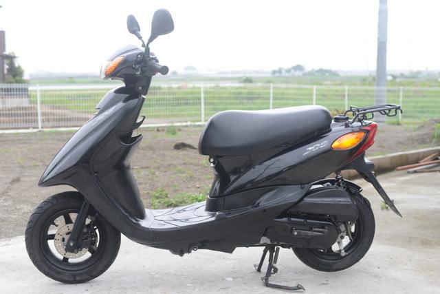 SA39J ヤマハジョグ ブラック 綺麗!