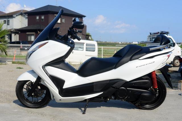 MF12  ホンダ  フォルツァSi ホワイト 綺麗