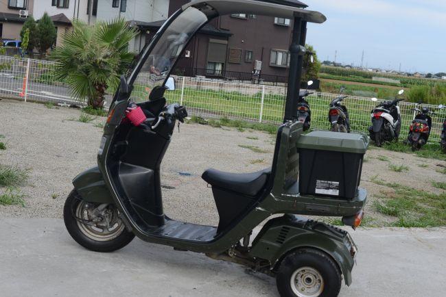 ホンダ ジャイロキャノピー TA02 グリーン