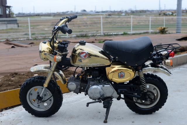 ホンダ モンキー Z50J ゴールド 相模原より