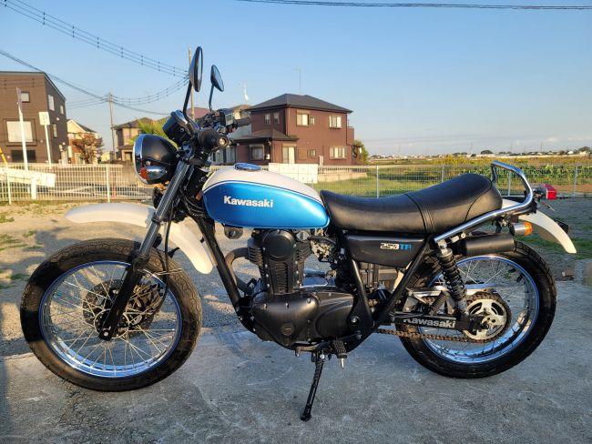 カワサキ 250TR BJ250F