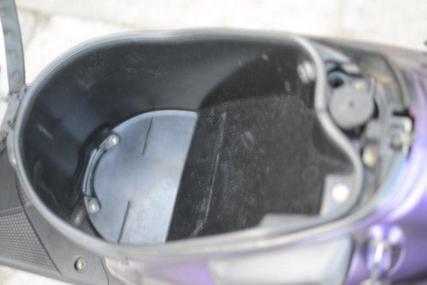 スズキ ZZ 12インチスクーター 希少パープル 1212