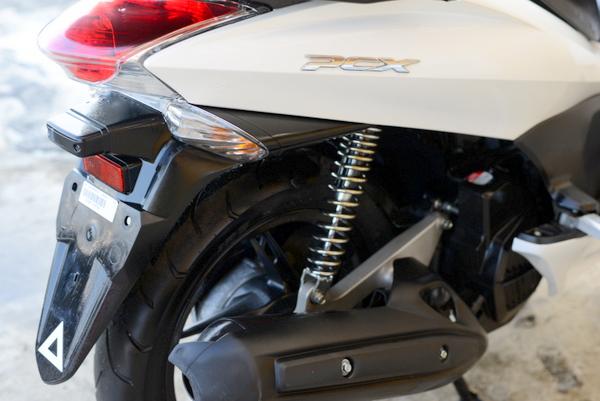 ホンダ 低走行 PCX125 ESPエンジン 白 ノーマル 0121