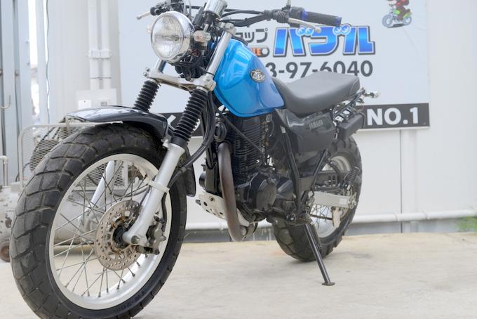 TW200 スカチューン青