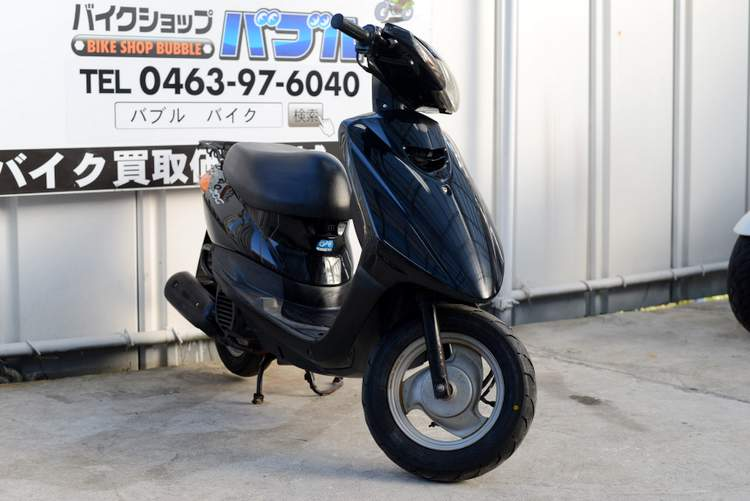 SA36J JOG黒インジェクション車 タイヤ交換渡し