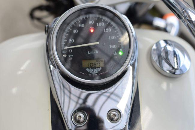 NC40 シャドウスラッシャー400 プルバックハンドル