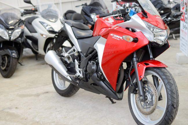 MC41 綺麗なCBR250R 赤銀