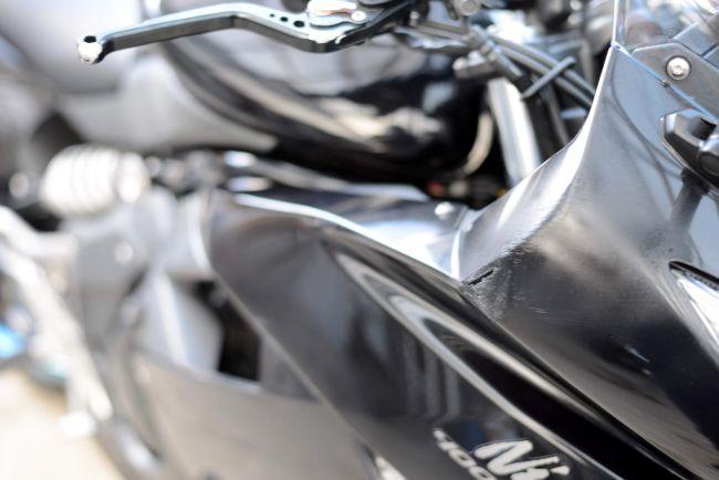 NINJA400R ブラック アールズギアマフラー