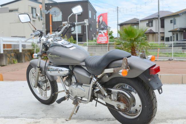 ホンダMAGNA FIFTY50ccグレー AC13