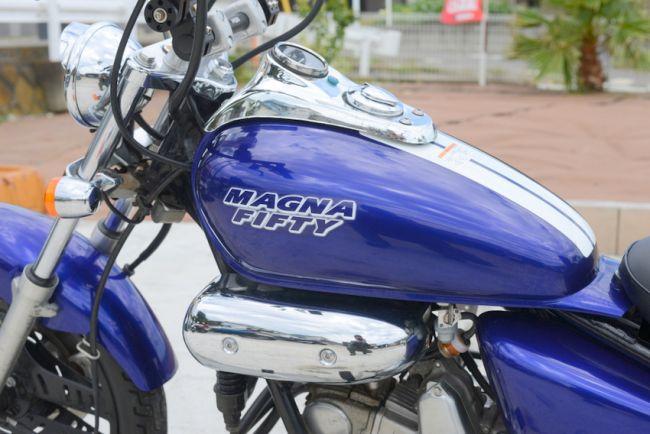 ホンダMAGNA FIFTY 50ccブルー AC13