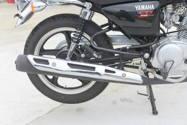 ヤマハ YB125SP ホワイト