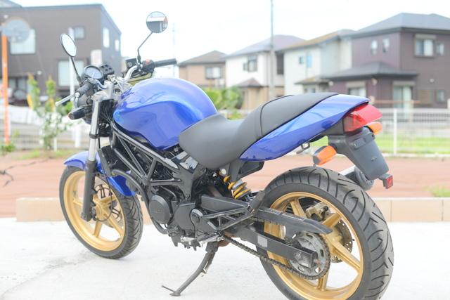 ホンダ VTR250 MC33 ブルー