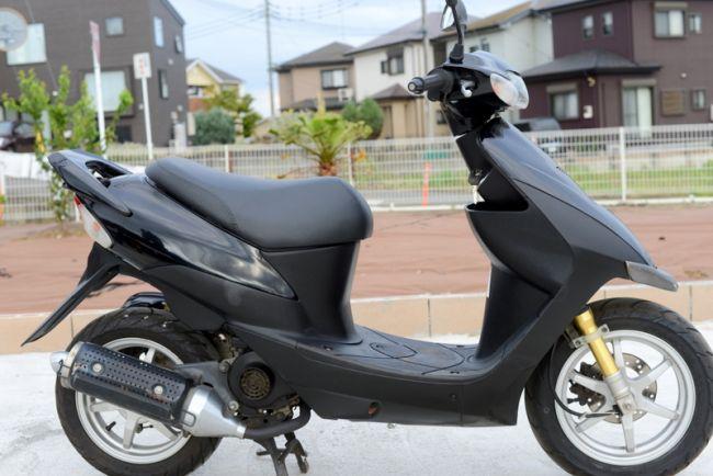 CA1PB ZZ 黒12インチスクーター