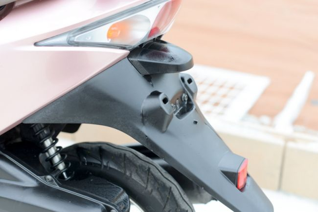 AF68 ディオチェスタ インジェクション車 希少色ピンク