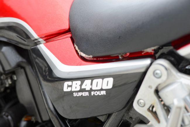 NC39 CB400SF spec1  自家塗装仕様