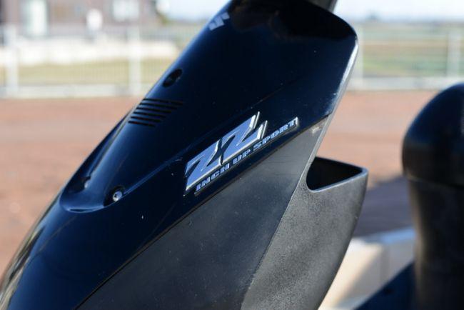 CA1PB!ZZ!黒12インチスクーター!クリアテール!