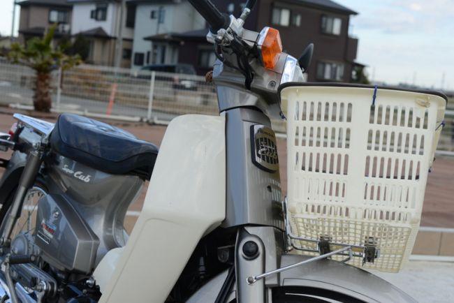 ホンダ スーパーカブ インジェクション車!