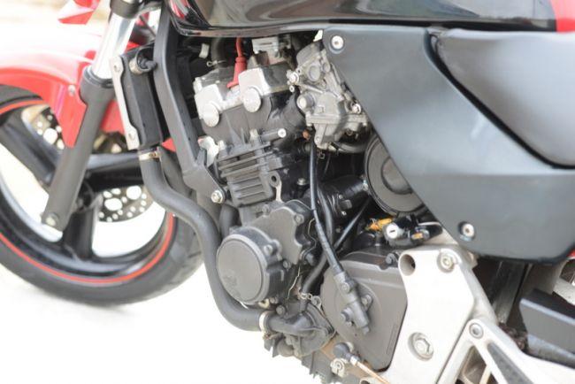 ホンダ ホーネットDX250 タイヤ前後新品