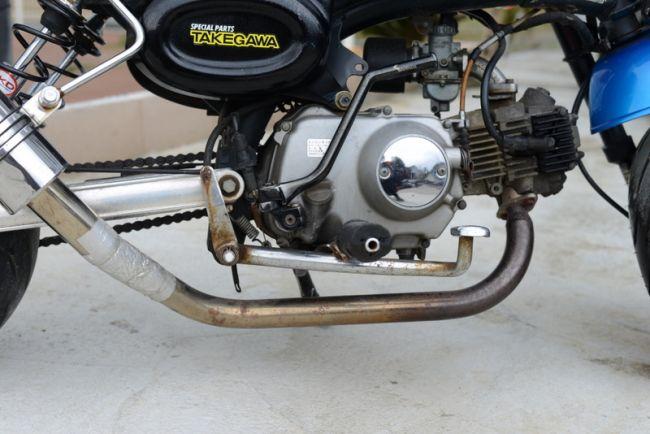 Z50J 6ボルト モンキー88cc カスタム