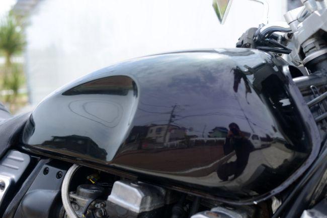 ヤマハ XJR400 前後タイヤ新品交換渡し