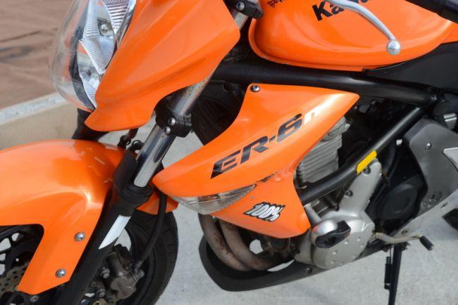 カワサキ ER6N オレンジ 格安!