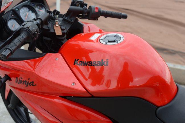 カワサキ EX250K ニンジャ250R 赤 低走行!