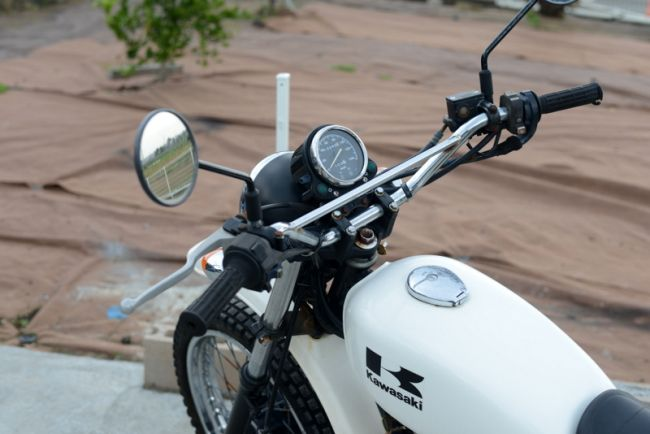 カワサキ BJ250F 250TR ホワイト 格安!