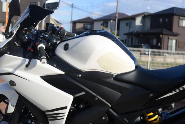 ヤマハ YZF-R3 ホワイト 2オーナー カスタム多数!