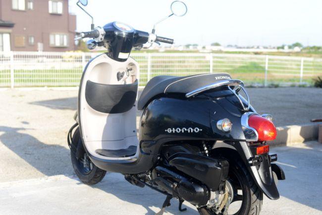 ホンダ ジョルノ AF70型 ブラック
