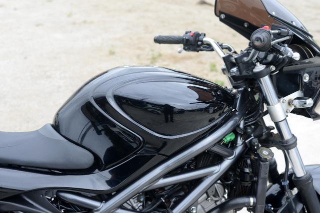 VK58A スズキ グラディウス400 ブラック カスタム